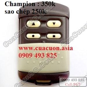 remote techdoor champion Remote cửa cuốn